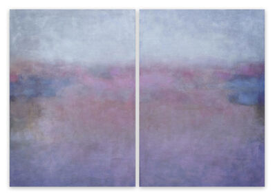 Janise Yntema, 'Clair de Lune (Abstract painting)', 2021