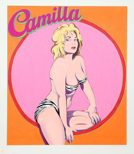 Mel Ramos, 'Camilla', 1989