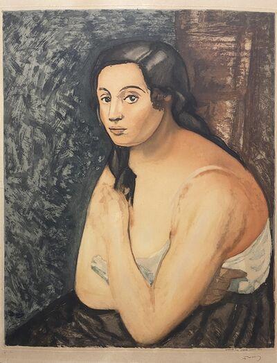 André Derain, 'Buste de Femme', 1922