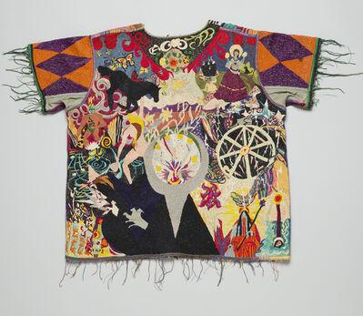 Unknown Designer, 'Embroidered hospital scrub top', ca. 1968
