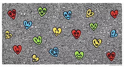 Mr Doodle, 'Heartland', 2020