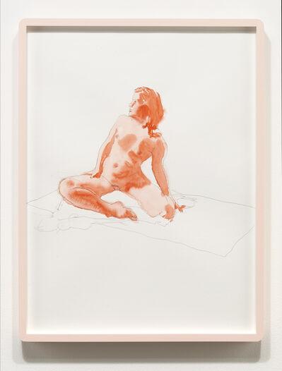 Luke Butler, 'Nude From Life, December 2014', 2014