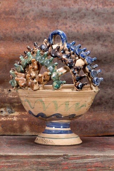 'incense urn', 1940-1960