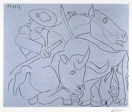 Pablo Picasso, 'La Pique Cassée (The Broken Spade)', 1959