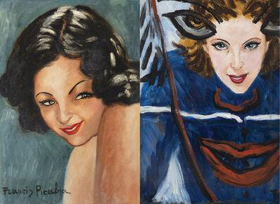Francis Picabia, 'Tête de femme', 1942-1943