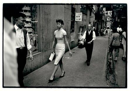 Ed van der Elsken, 'Lady in Qipao, Hong Kong', 1960