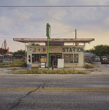 Rod E. Penner, 'J + H Station/May, TX', 2021