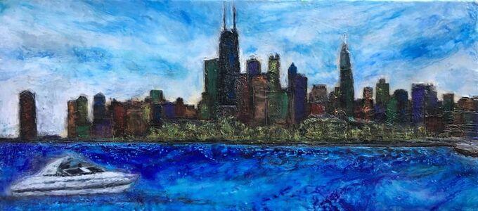 Robin Samiljan, 'Fullerton Beach, Chicago'