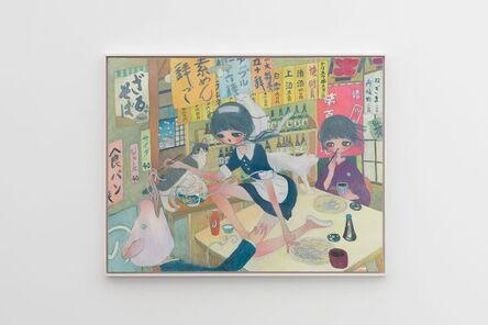 Aya Takano, 'Nymphet Splitting the Quotidian', 2019