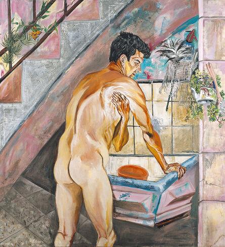 """Marcia Schvartz, 'El baño del morocho (The bath of the """"morocho"""")', 1989"""
