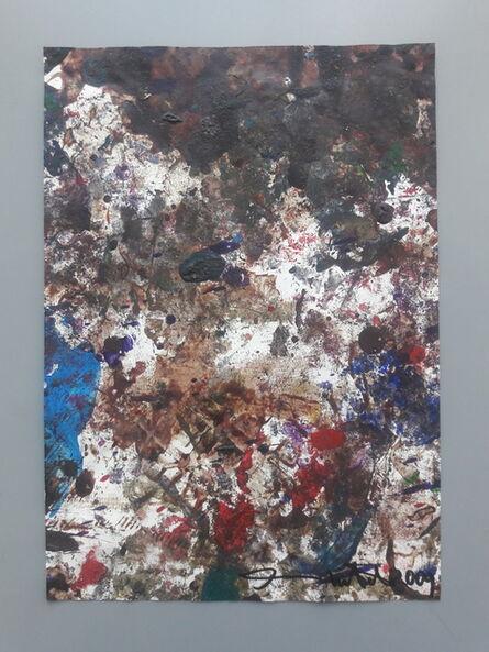 Hermann Nitsch, 'Papierarbeit', 2001