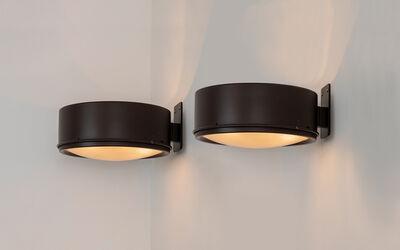 Gino Sarfatti, 'Pair of 255/37 wall lamps', 1966