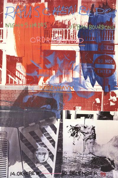 Robert Rauschenberg, 'Night Shades + Urban Bourbons', 1995