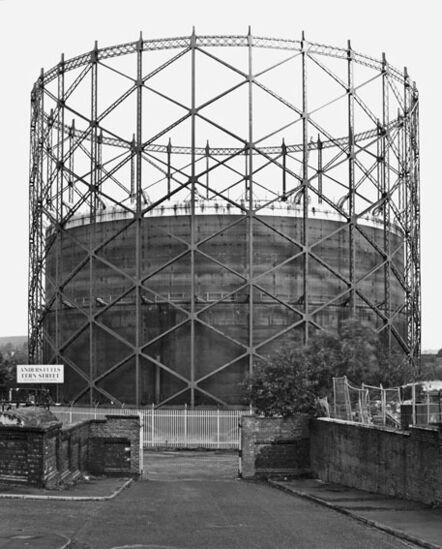 Bernd and Hilla Becher, 'Teleskop Gasbehälter Rochdale, UK', 2008