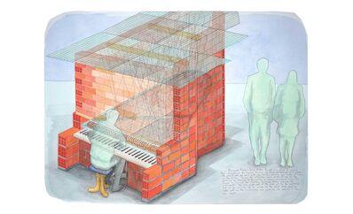 Oscar Abraham Pabon, 'Resonance House - Dense Matter', 2018