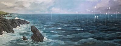 Oliver Jeffers, 'Coastal Fathom Painting ', 2016