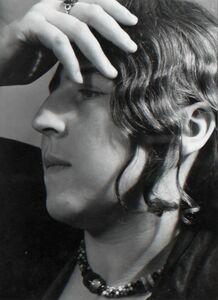 Adolf Lazi, 'Portrait of Hedda', 1931-1932