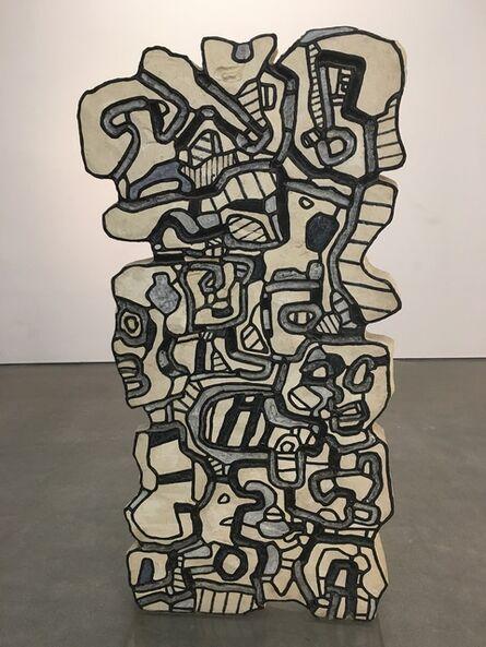 Jean Dubuffet, 'Element bleu XII', 1967