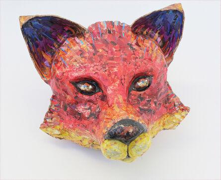 Yulia Shtern, 'For Fox Sake - Free Standing Animal Sculpture in Red + Yellow + Purple', 2017