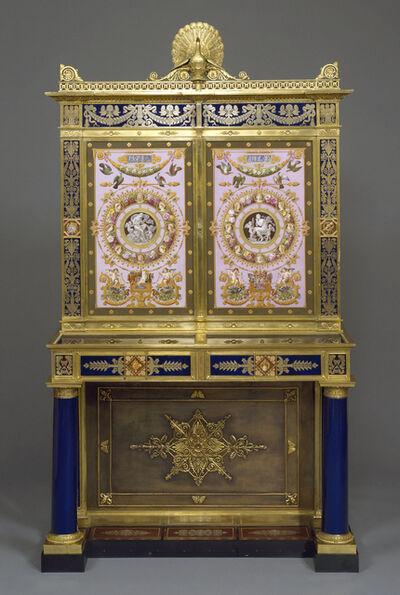 Sèvres Porcelain Manufactory, 'Jewel cabinet', 1825-1826