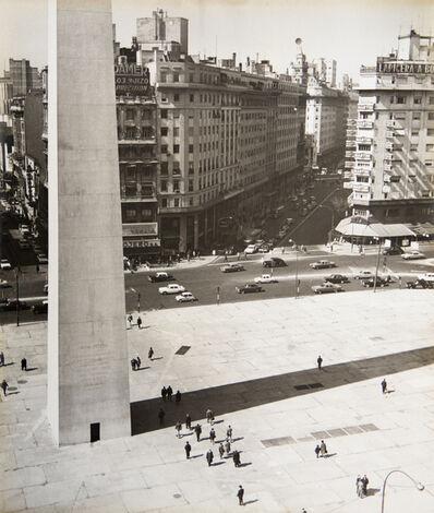 Grete Stern, 'Obelisco y Diagonal Norte', ca. 1951-1952