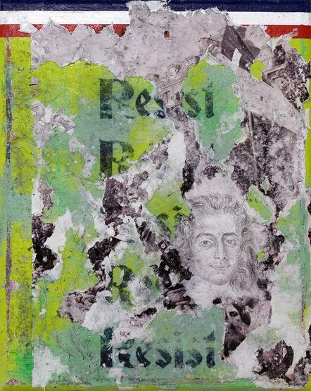 Zavier Ellis, 'Resist (Tricolour)', 2021