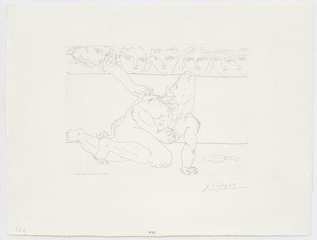 Pablo Picasso, 'Minotaure mourant', 1933