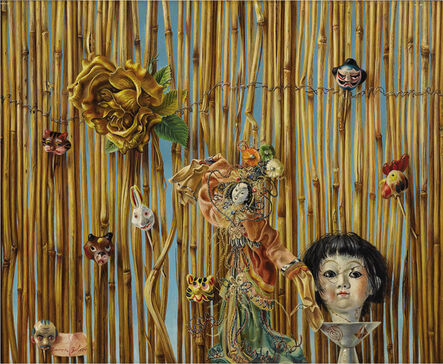 Aaron Bohrod, 'Maid in Japan', 1960-1975