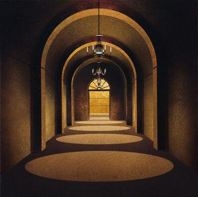 Ben Johnson (b.1946), 'Bordeaux Wine Cellar', 2009