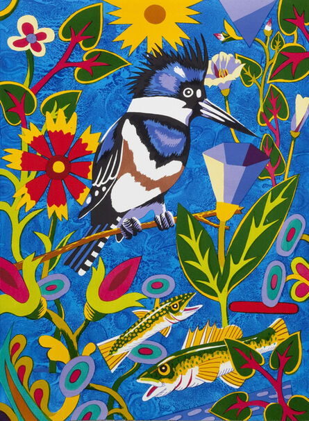 Billy Hassell, 'Kingfisher (Into Blue)', 2015