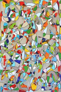 Petra Rös-Nickel, 'Crazy Pattern', 2019