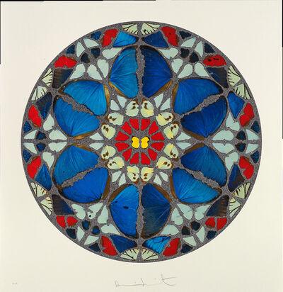 Damien Hirst, 'Psalm Print: Verba mea auribus (diamond dust)', 2009