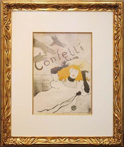 Henri de Toulouse-Lautrec, 'Confetti', ca. 1893