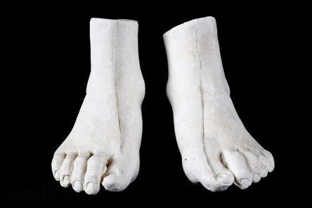 Eduardo Paolozzi, 'Pair of feet, left and right'