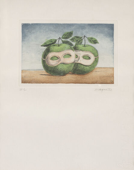 René Magritte, 'Le prêtre Marié'