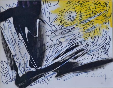 Karl Otto Götz, 'Zugluft XXIX', 1994