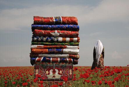Said Atabekov, 'My Flags / Korpeshe (Blanket) Flags', 2010