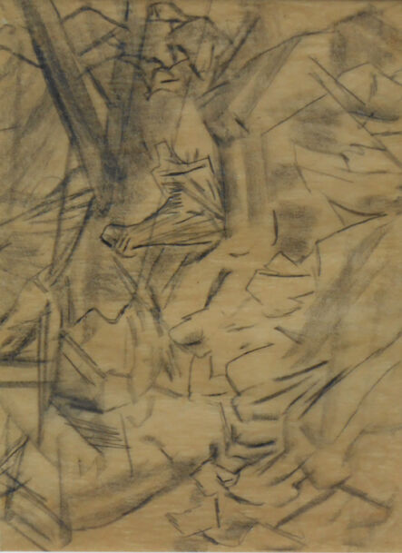 David Bomberg, 'Sappers under hill'
