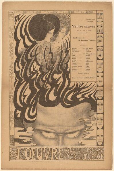 Jan Toorop, 'Venise sauvée', 1895