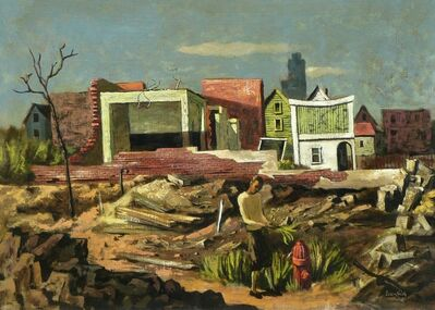 Hughie Lee-Smith, 'Untitled (Desolation)', 1952