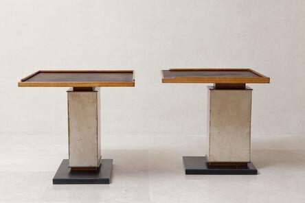Paul Dupré-Lafon, 'Pair of tables', ca. 1940