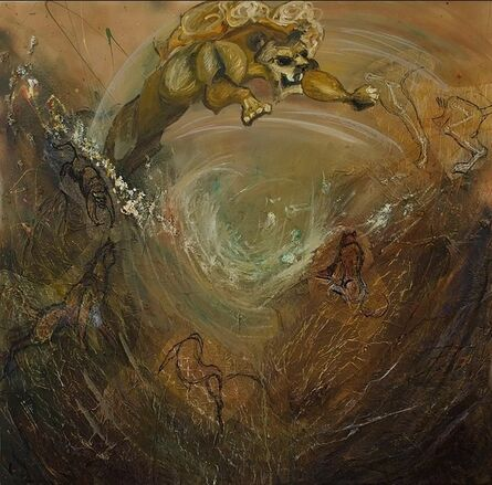 Emily Tucci, 'Lion Environment'