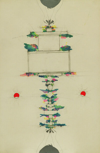 Alighiero Boetti, 'Tra sè e sè, (Between self and self) ', 1987