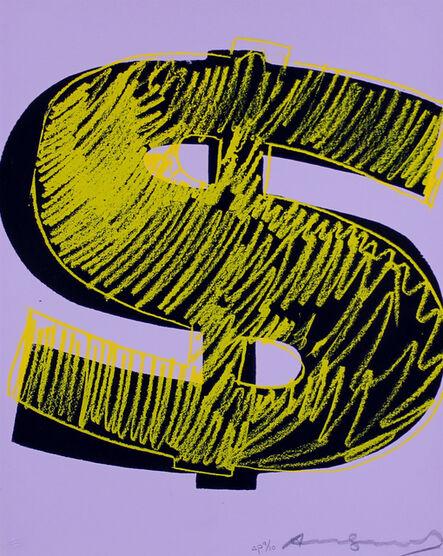 Andy Warhol, 'Dollar Sign', 1982