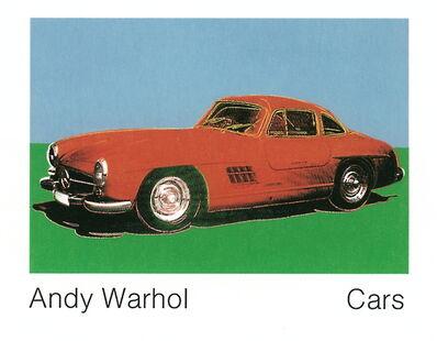 Andy Warhol, '300 Sl Coupe (1954) (Lg)', 1989