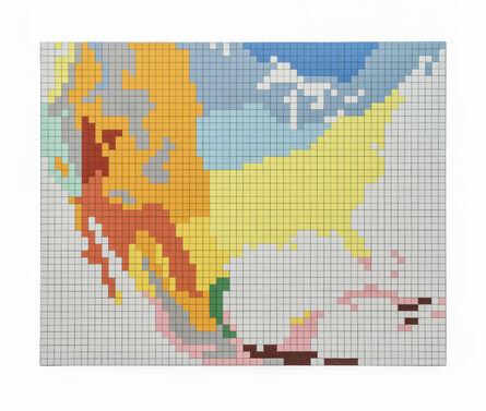 Reinhard Voigt, 'USA, Mexico (Climates)', 1981
