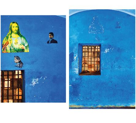 Lyle Ashton Harris, 'Blue Cell/Blue Christ', 2010
