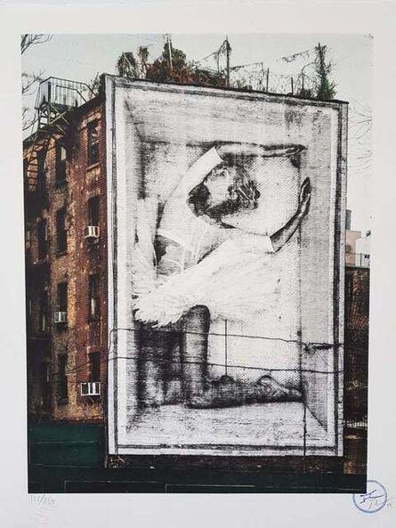 JR, 'Ballet, Ballerina In Crate, East Village, New York City, 2015', 2019