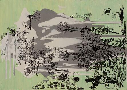 Jane Fine, 'Untitled (Green Chinese)', 2014