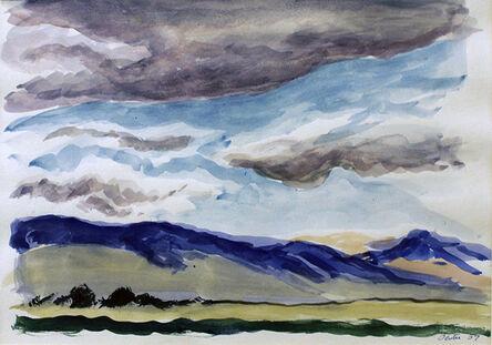 Thomas Hart Benton, 'Blue Mountains', 1957